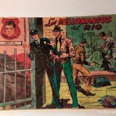 Giornalini: MARK CLAYTON - Nº 9 - LOS MILLONARIOS DEL RIO - EDITORIAL RICART 1954 . ORIGINAL. Lote 81946772