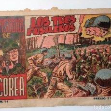 Tebeos: EPISODIOS DE COREA Nº 11 DE 1951 EXCLUSIVAS GRÁFICAS RICART · BARCELONA - ORIGINAL. Lote 82098448