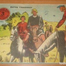 Tebeos: FLECHA Y ARTURO. ENTRE TRAIDORES. Nº 19. EXCLUSIVAS GRÁFICAS RICART.. Lote 83742620