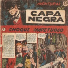 Tebeos: CAPA NEGRA, AÑO 1.953. Nº 2. ORIGINAL, EDITORIAL RICART.. Lote 84353444