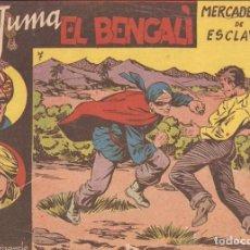 Tebeos: JUMA EL BENGALÍ, AÑO 1.954. Nº 7. ORIGINAL, EDITORIAL RICART.. Lote 84354952