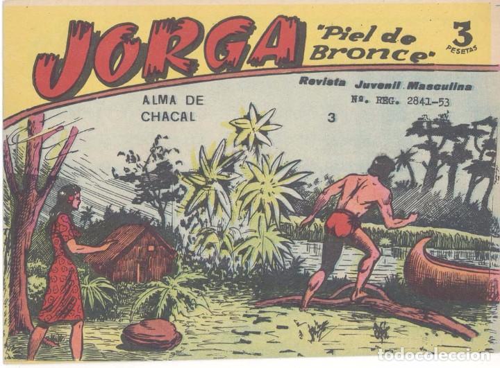 JORGA Nº 3, DE 3 PTS. ORIGINAL (Tebeos y Comics - Ricart - Jorga)