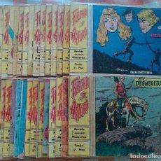 Tebeos: FLECHA Y ARTURO COMPLETA (RICART) 30 TEBEOS DE 2 (1.965) Y 3 PTS. (1.966). Lote 90827520
