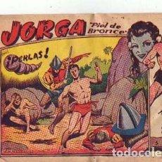 Tebeos: JORGA (PIEL DE BROCE) (2ª) (RICART) Nº 5. Lote 91375640