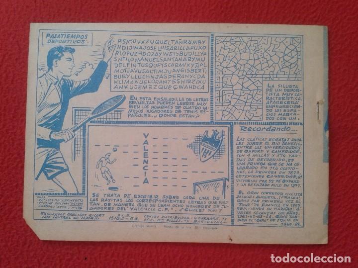 Tebeos: REVISTA COMIC TEBEO WINCHESTER JIM LUCHA FEROZ PELIGRO EN EL FUERTE 4 GRAFICAS RICART. PARA JÓVENES - Foto 2 - 91470110