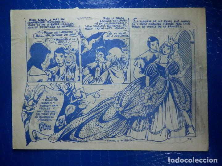 Tebeos: TEBEO - COMIC - COLECCIÓN ROSA - lIRISOL Y LA BRUJA - Nº 57 - AÑO 1959 - Foto 2 - 92236820