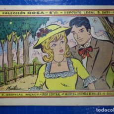 Tebeos: TEBEO - COMIC - COLECCIÓN ROSA - LA CONDESITA HUMILDE - Nº 31 - AÑO 1959. Lote 92236840