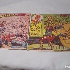 Tebeos: COMICS PLATILLOS VOLANTES DE RICART NUMEROS 3 Y 4. Lote 92480775