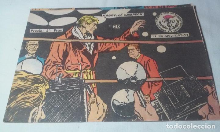 HARDY EL CAMPEÓN AVENTURAS GRÁFICAS NÚMERO 20 -RICART- (Tebeos y Comics - Ricart - Otros)