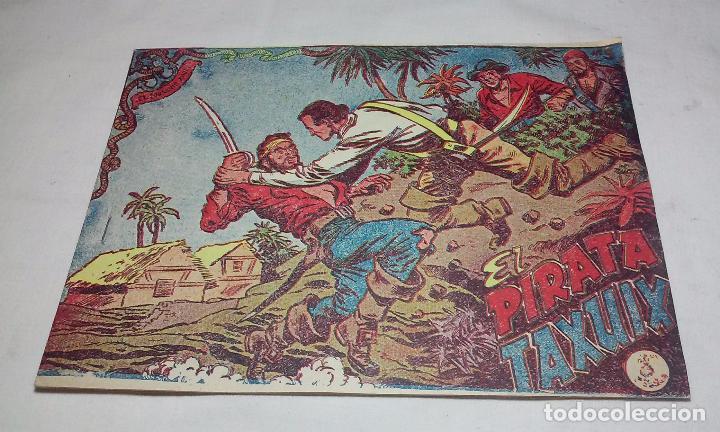 EL CORSARIO AUDAZ. COMIC EL PIRATA TAXUIX N° 3 AÑO 1955 ORIGINAL. (Tebeos y Comics - Ricart - Otros)