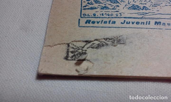 Tebeos: EL CORSARIO AUDAZ. COMIC EL PIRATA TAXUIX N° 3 AÑO 1955 ORIGINAL. - Foto 6 - 92723325