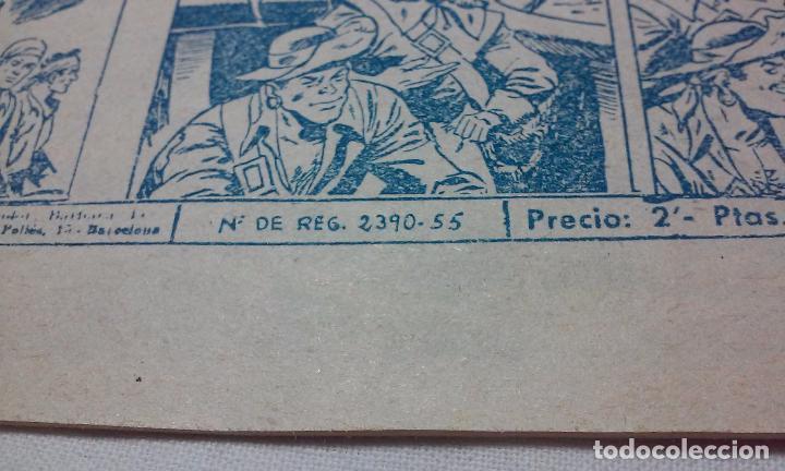 Tebeos: EL CORSARIO AUDAZ. COMIC EL PIRATA TAXUIX N° 3 AÑO 1955 ORIGINAL. - Foto 7 - 92723325
