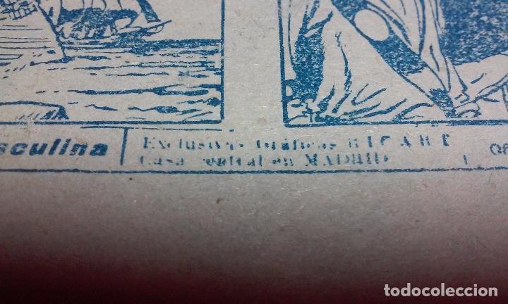 Tebeos: EL CORSARIO AUDAZ. COMIC EL PIRATA TAXUIX N° 3 AÑO 1955 ORIGINAL. - Foto 8 - 92723325