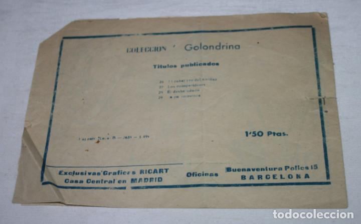 Tebeos: LA ENTROMETIDA, JOSEFINA, COLECCION GOLONDRINA, RICART 1959, TEBEO ANTIGUO - Foto 2 - 94071920