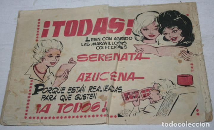 Tebeos: LA VARITA DESENCANTADA, JOSEFINA, AZUCENA REVISTA JUVENIL FEMENINA, TORAY 1958, TEBEO ANTIGUO - Foto 3 - 94072735