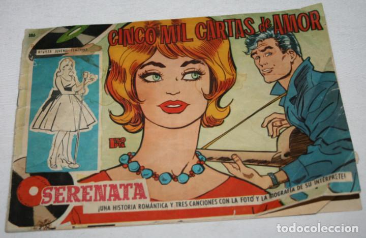 CINCO MIL CARTAS DE AMOR, SERENATA REVISTA JUVENIL FEMENINA, TORAY 1959, TEBEO ANTIGUO (Tebeos y Comics - Ricart - Golondrina)