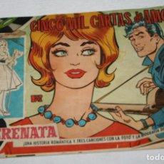 Tebeos: CINCO MIL CARTAS DE AMOR, SERENATA REVISTA JUVENIL FEMENINA, TORAY 1959, TEBEO ANTIGUO. Lote 94169795