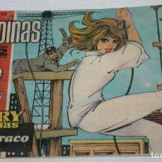 Tebeos: EL ATRACO, HEROINAS REVISTA JUVENIL FEMENINA, I.M.D.E. 1962, JOAN MANUEL SERRAT CONTAPORTADA, COMIC. Lote 94171005