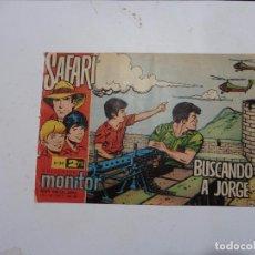 Tebeos: SAFARI Nº 34 RICART ORIGINAL CLAUDIO TINOCO. Lote 94478170