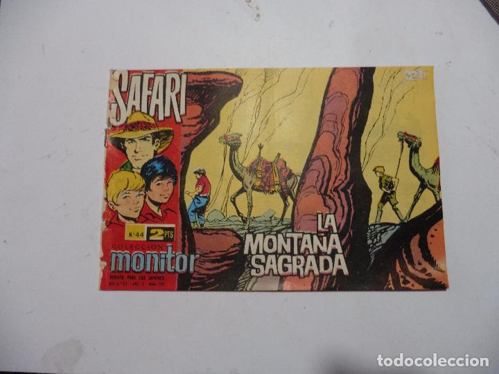 SAFARI Nº 44 RICART ORIGINAL CLAUDIO TINOCO (Tebeos y Comics - Ricart - Safari)