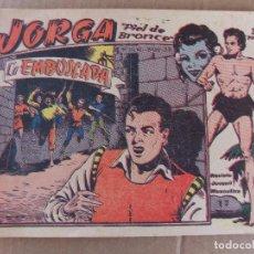 Tebeos: JORGA PIEL DE BRONCE Nº 17 DE 2 PTAS GRAFICAS RICART. Lote 94556743