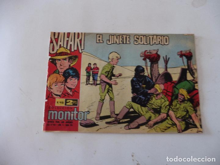 SAFARI Nº 46 RICART ORIGINAL CLAUDIO TINOCO (Tebeos y Comics - Ricart - Safari)