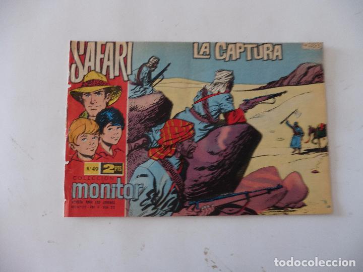 SAFARI Nº 49 RICART ORIGINAL CLAUDIO TINOCO (Tebeos y Comics - Ricart - Safari)
