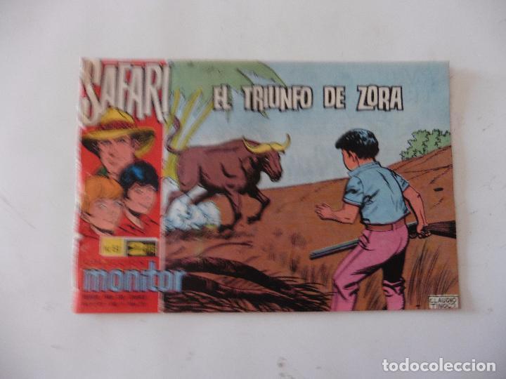 SAFARI Nº 51 RICART ORIGINAL CLAUDIO TINOCO (Tebeos y Comics - Ricart - Safari)