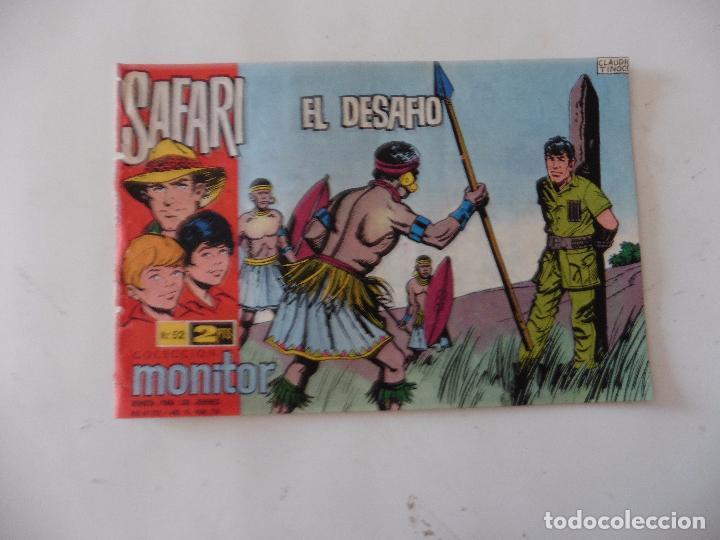 SAFARI Nº 52 RICART ORIGINAL CLAUDIO TINOCO (Tebeos y Comics - Ricart - Safari)