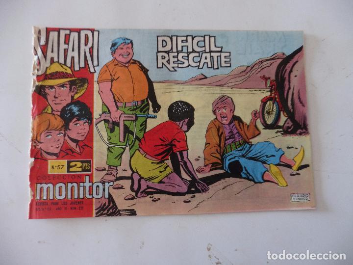 SAFARI Nº 57 RICART ORIGINAL CLAUDIO TINOCO (Tebeos y Comics - Ricart - Safari)