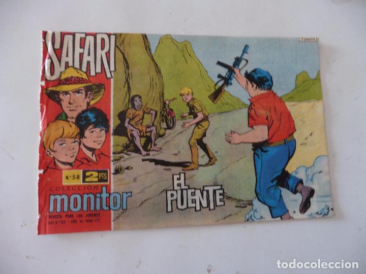 SAFARI Nº 58 RICART ORIGINAL CLAUDIO TINOCO (Tebeos y Comics - Ricart - Safari)