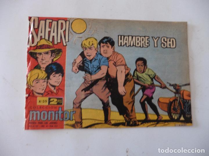 SAFARI Nº 59 RICART ORIGINAL CLAUDIO TINOCO (Tebeos y Comics - Ricart - Safari)