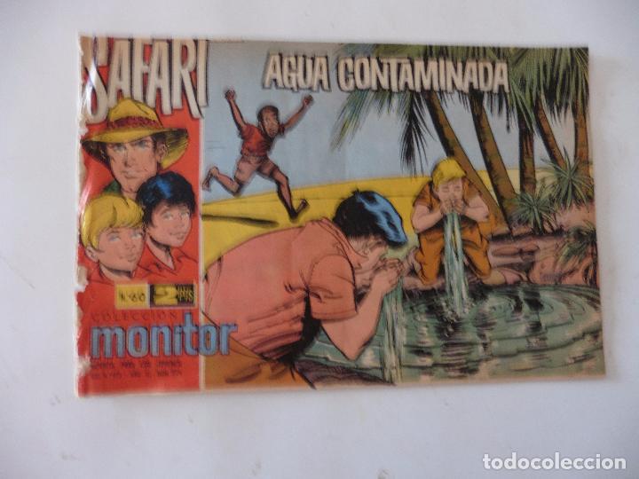 SAFARI Nº 60 RICART ORIGINAL CLAUDIO TINOCO (Tebeos y Comics - Ricart - Safari)