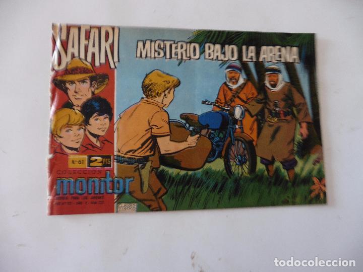 SAFARI Nº 61 RICART ORIGINAL CLAUDIO TINOCO (Tebeos y Comics - Ricart - Safari)