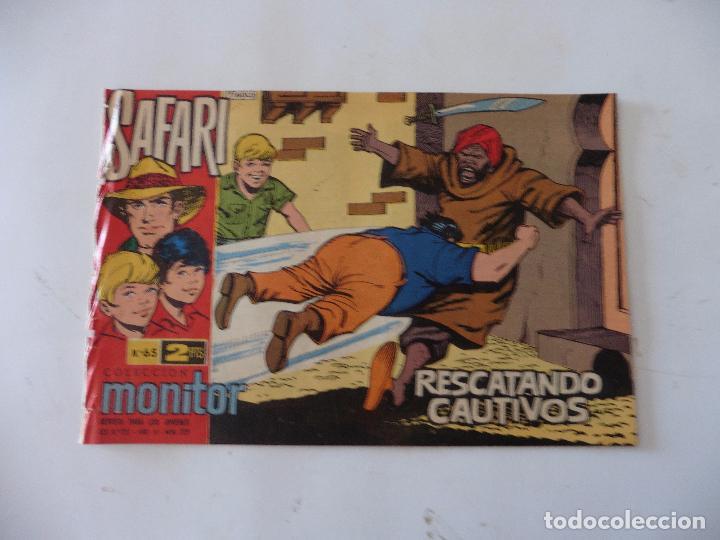 SAFARI Nº 65 RICART ORIGINAL CLAUDIO TINOCO (Tebeos y Comics - Ricart - Safari)