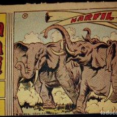Tebeos: SAFARI Nº 12 : MARFIL. (EDITORIAL RICART -1963-) ORIGINAL. Lote 95401527
