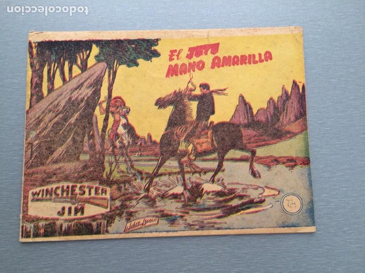 EL JEFE MANO AMARILLA-WINCHESTER JIM-EDITORIAL RICART (Tebeos y Comics - Ricart - Otros)