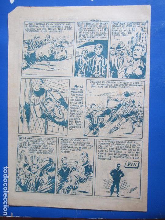 Tebeos: ases del deporte , n. 12 , carmelo , portero atletico de bilbao , editorial ricart - Foto 4 - 96312243