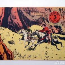 Tebeos: FLECHA Y ARTURO 14. EL DESFILADERO DE LA MUERTE RICART, 1965. ORIGINAL. Lote 97066083