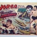 Tebeos: JORGA PIEL DE BRONCE 11. FAUCES VENGADORAS RICART, 1963. ORIGINAL. Lote 153995432