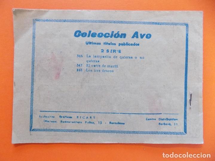 Tebeos: COLECCION AVE - LOS TRES DESEOS ... R-7674 - Foto 6 - 100216843