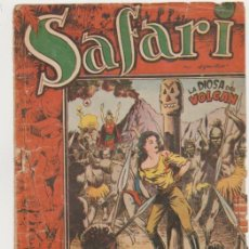 Tebeos: SAFARI Nº 4. RICART 1953.. Lote 101137379