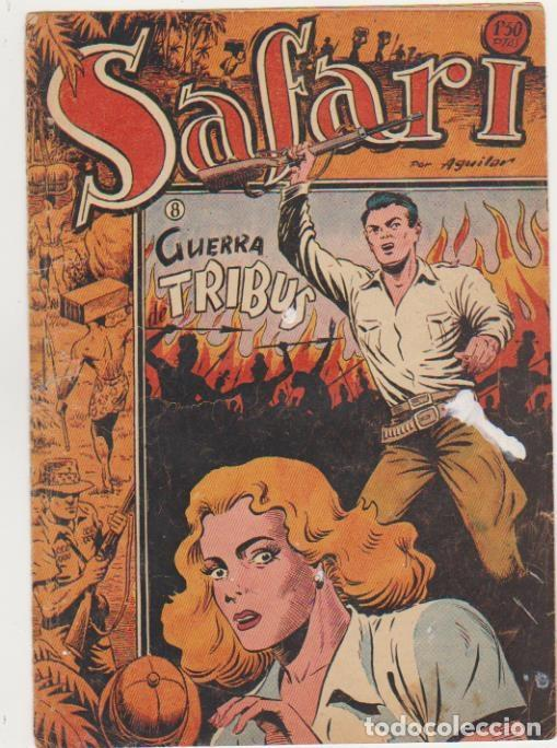 SAFARI Nº 8. RICART 1953. MUY DIFICIL... (Tebeos y Comics - Ricart - Safari)