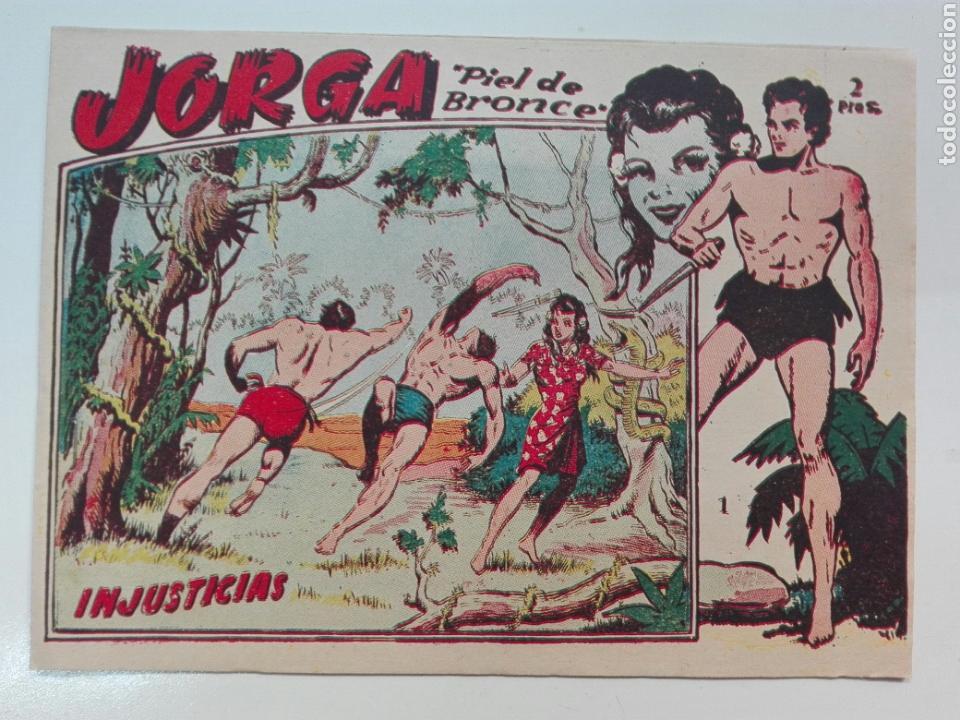 JORGA PIEL DE BRONCE NÚMERO 1 PRÁCTICAMENTE NUEVO (Tebeos y Comics - Ricart - Jorga)