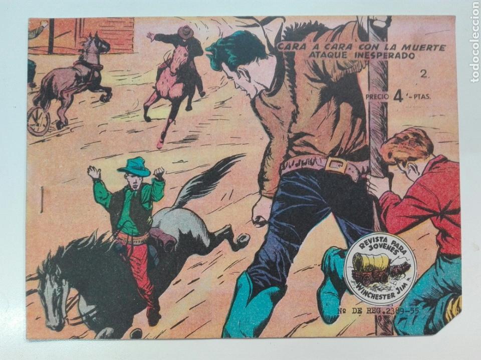CARA A CARA CON LA MUERTE WINCHESTER JIM 2 RICARD (Tebeos y Comics - Ricart - Otros)