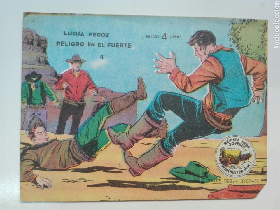 LUCHA FEROZ 4 WINCHESTER GYM EDITORIAL RICART (Tebeos y Comics - Ricart - Otros)