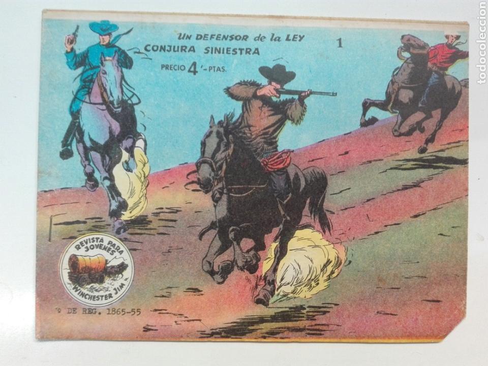 UN DEFENSOR DE LA LEY WINCHESTER GYM (Tebeos y Comics - Ricart - Otros)