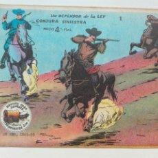 Tebeos: UN DEFENSOR DE LA LEY WINCHESTER GYM. Lote 101207986