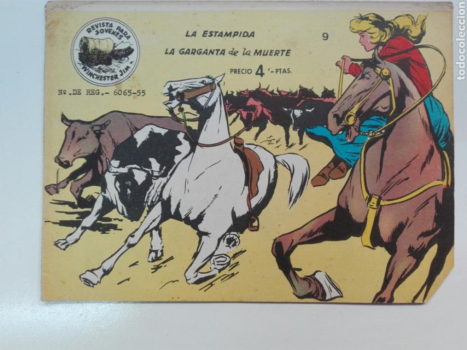 LA ESTAMPIDA NÚMERO 9 WINCHESTER GYM EDITORIAL RICART (Tebeos y Comics - Ricart - Otros)