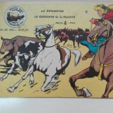 Tebeos: LA ESTAMPIDA NÚMERO 9 WINCHESTER GYM EDITORIAL RICART. Lote 101208184